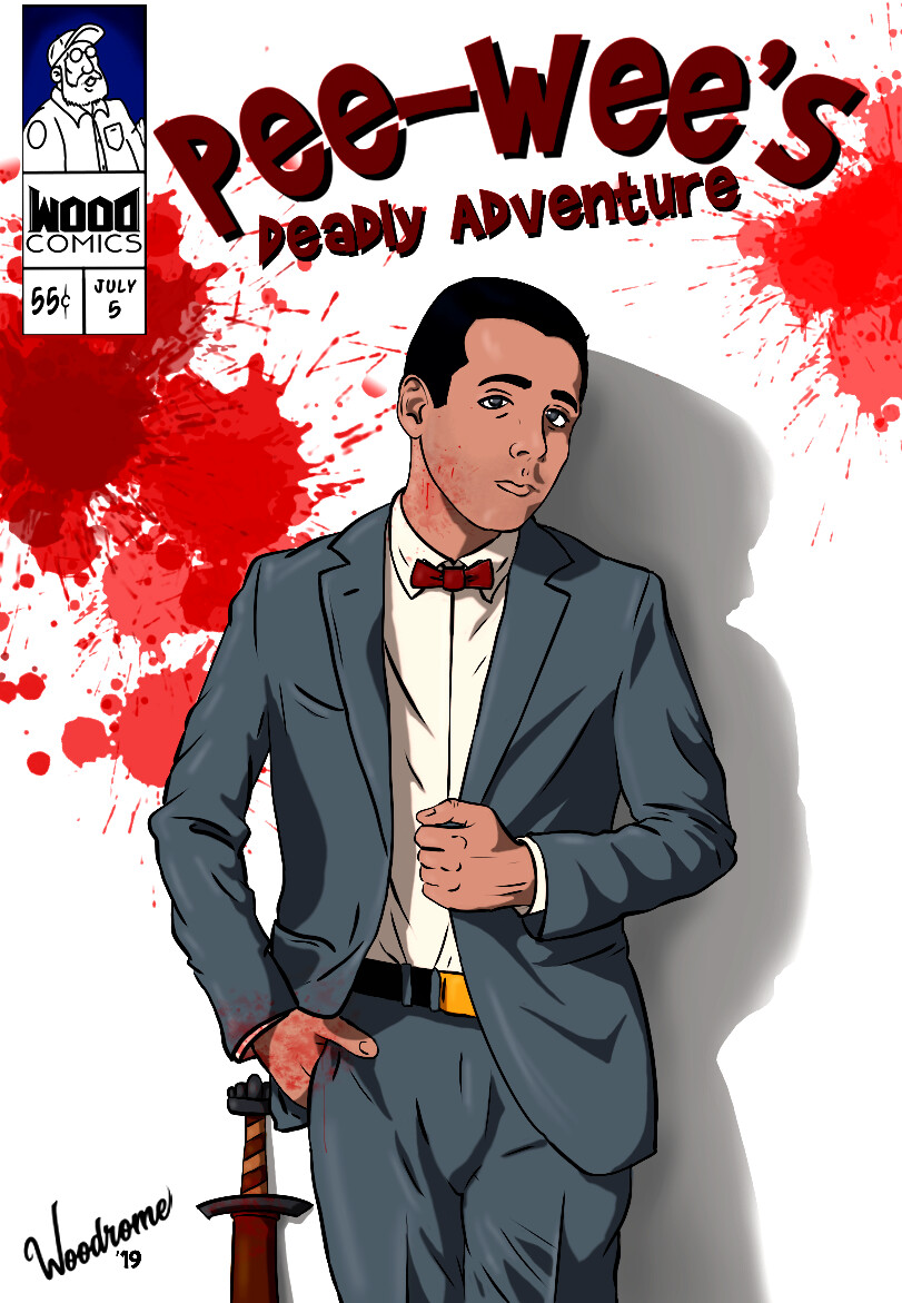 Pee-Wee's Deadly Adventure #001
