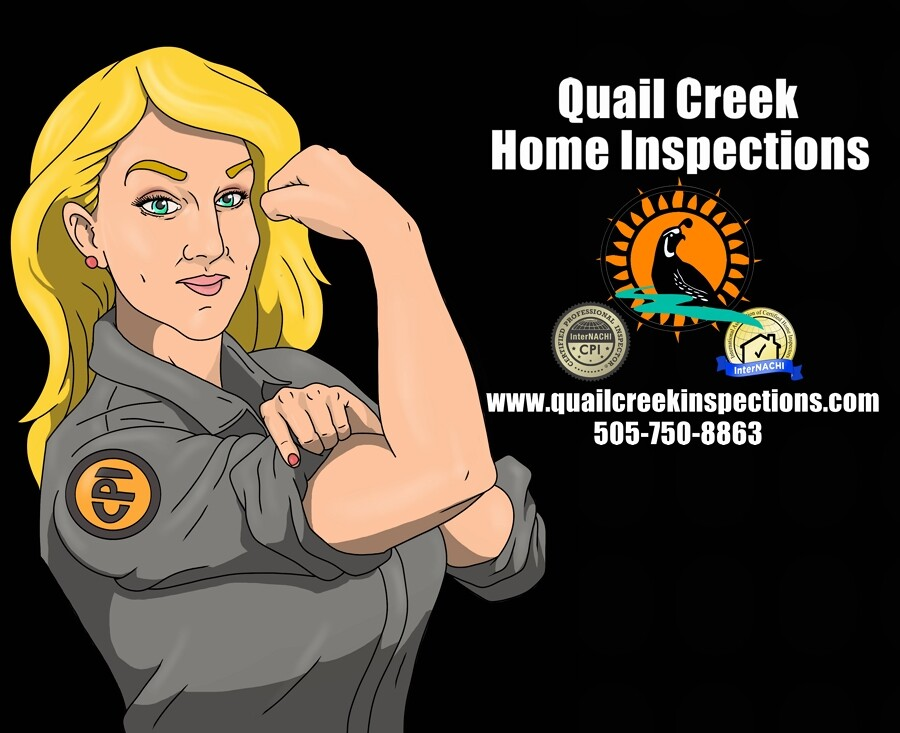 Quail Creek Home Inspections, marketing illustrations