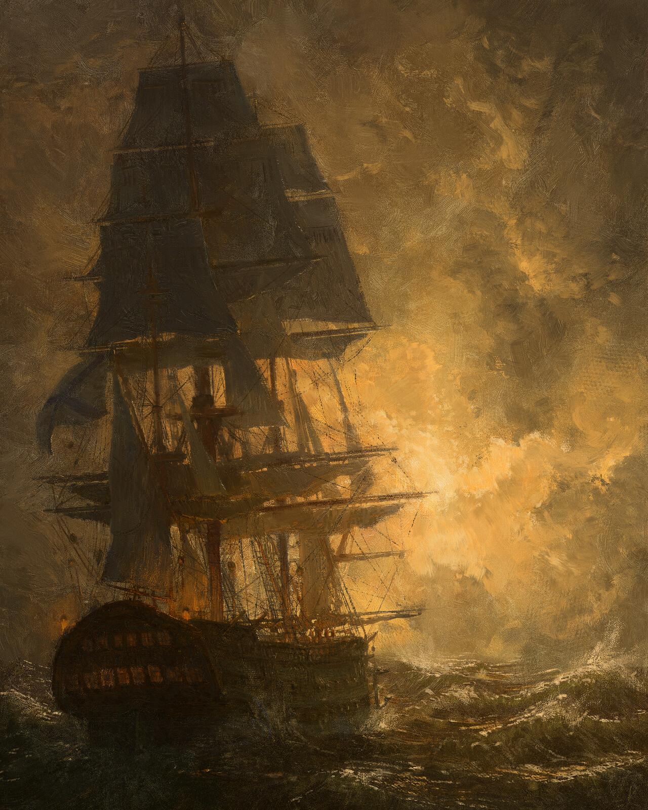 Ship of the line Azov