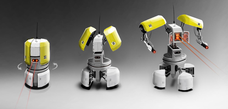 Surveillance Canbot concept