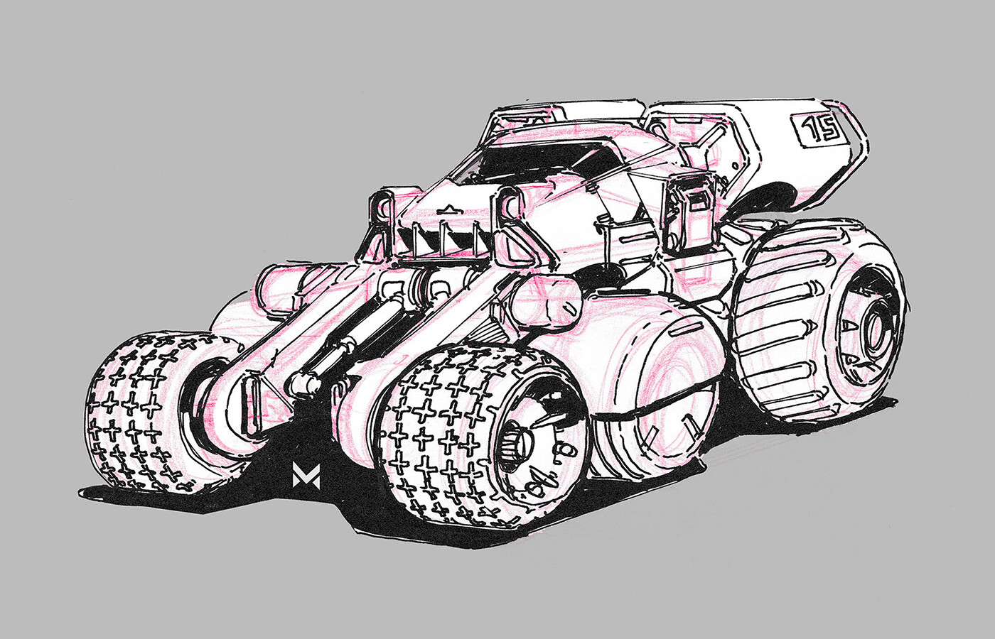 Offroad vehicle concept