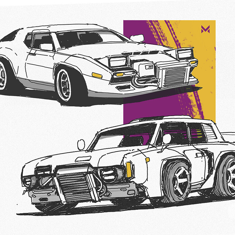 Vehicle Sketches