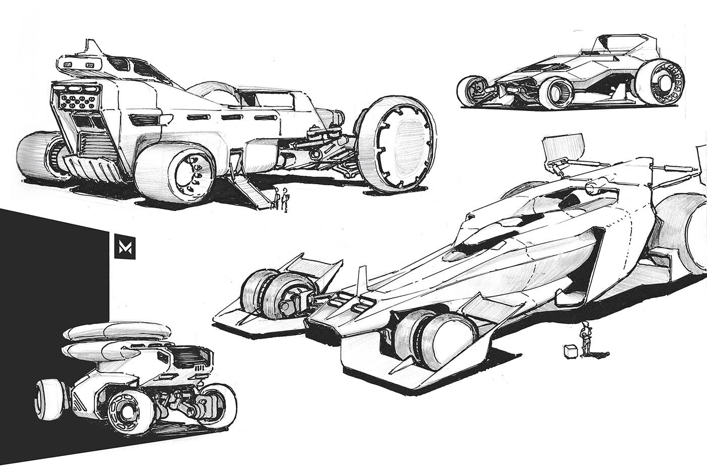 XL racing machines