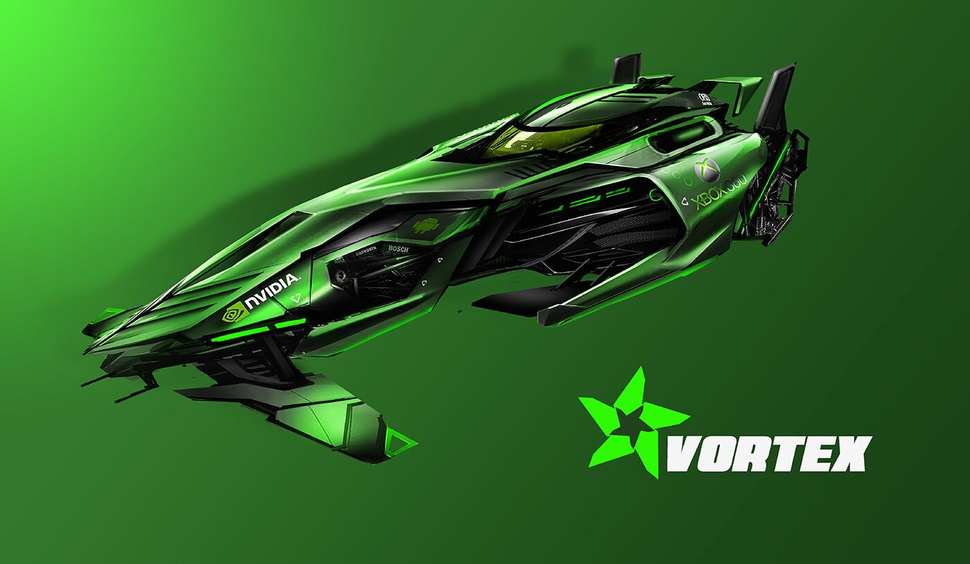 Vortex Prime Racing - competition build