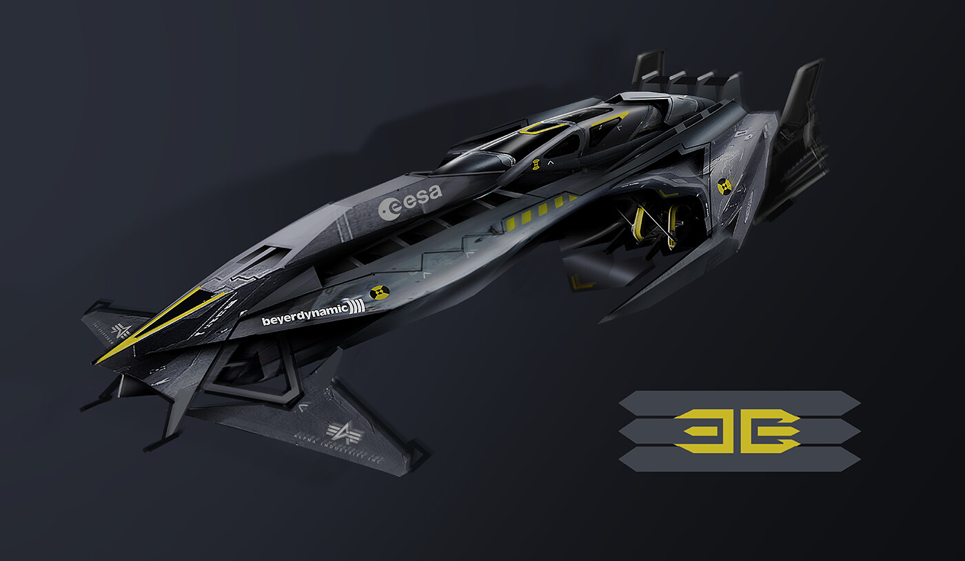 3B Stealth-Tech - competition build