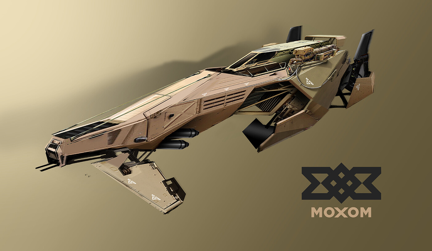 MOXOM Military - competition build
