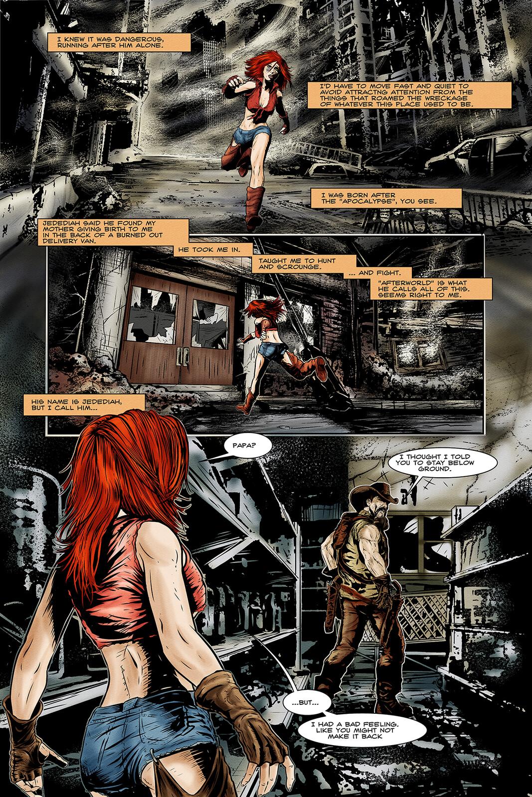 Apocalypse Girl #1 Page 2