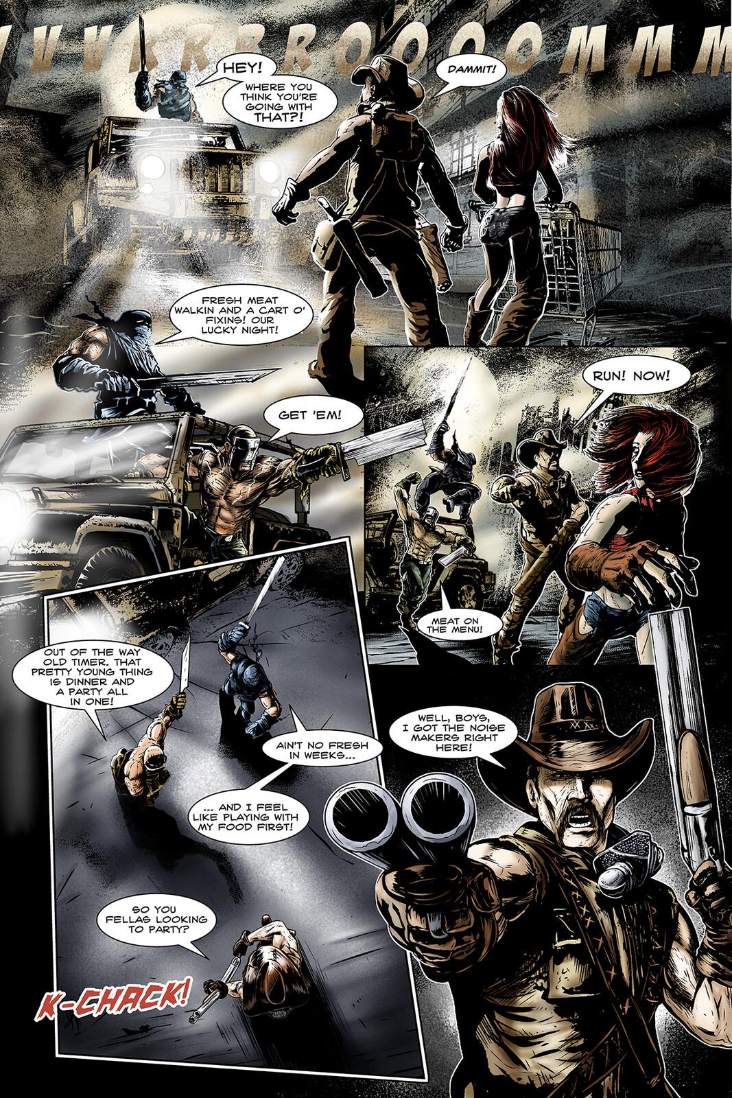 Apocalypse Girl #1 Page 4