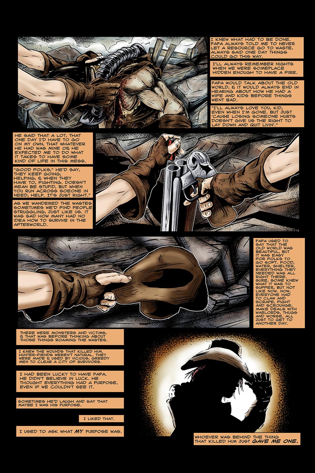 Apocalypse Girl #1 Page 9