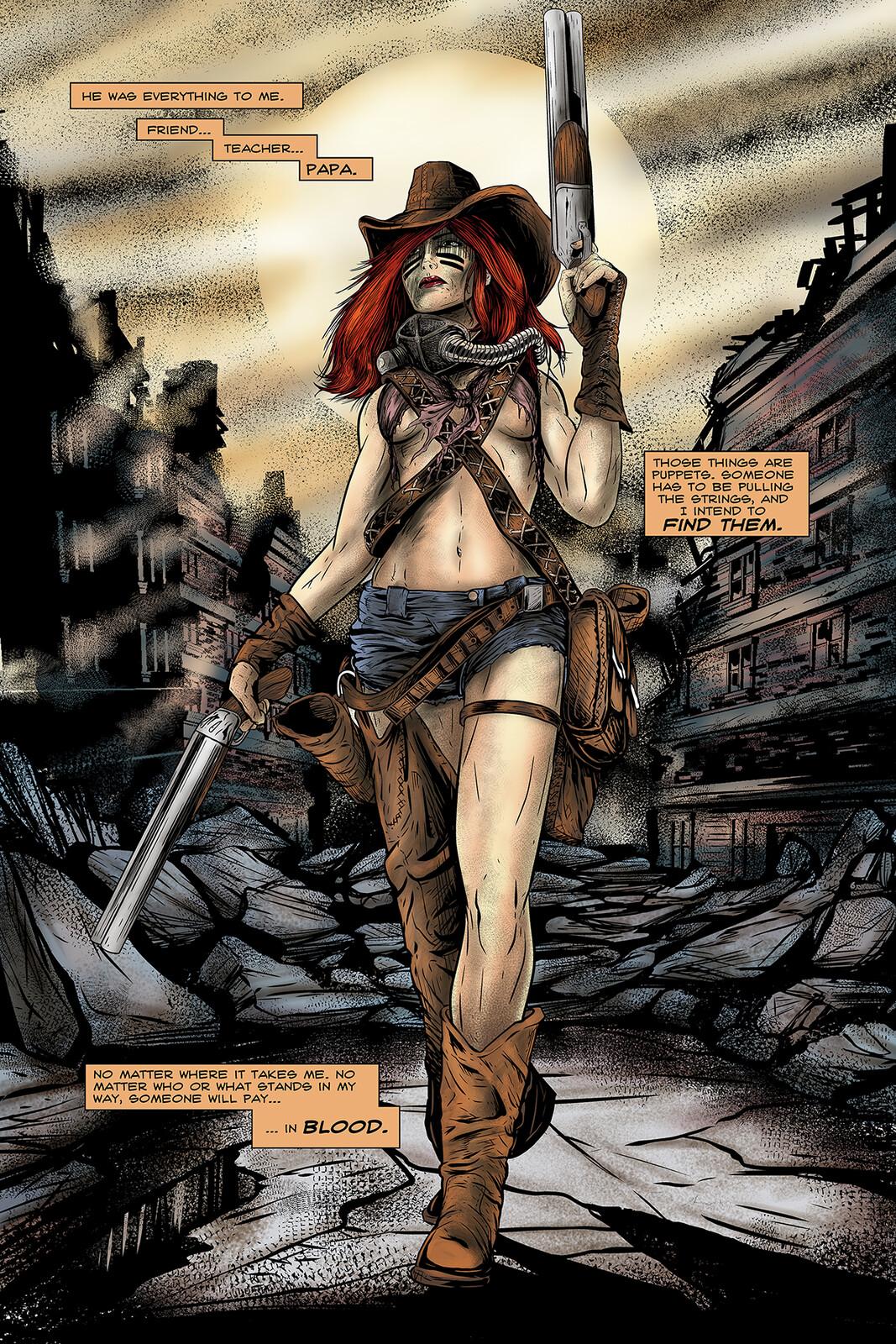 Apocalypse Girl #1 Page