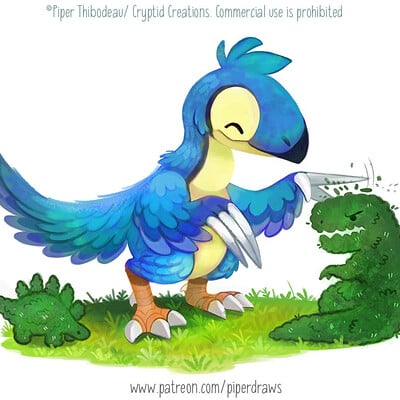 Piper thibodeau dp3037 illustration therizinogardener standardres