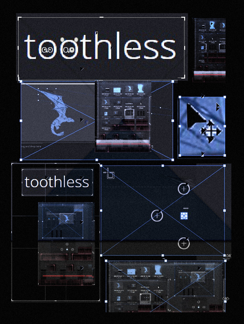Look like toothless.