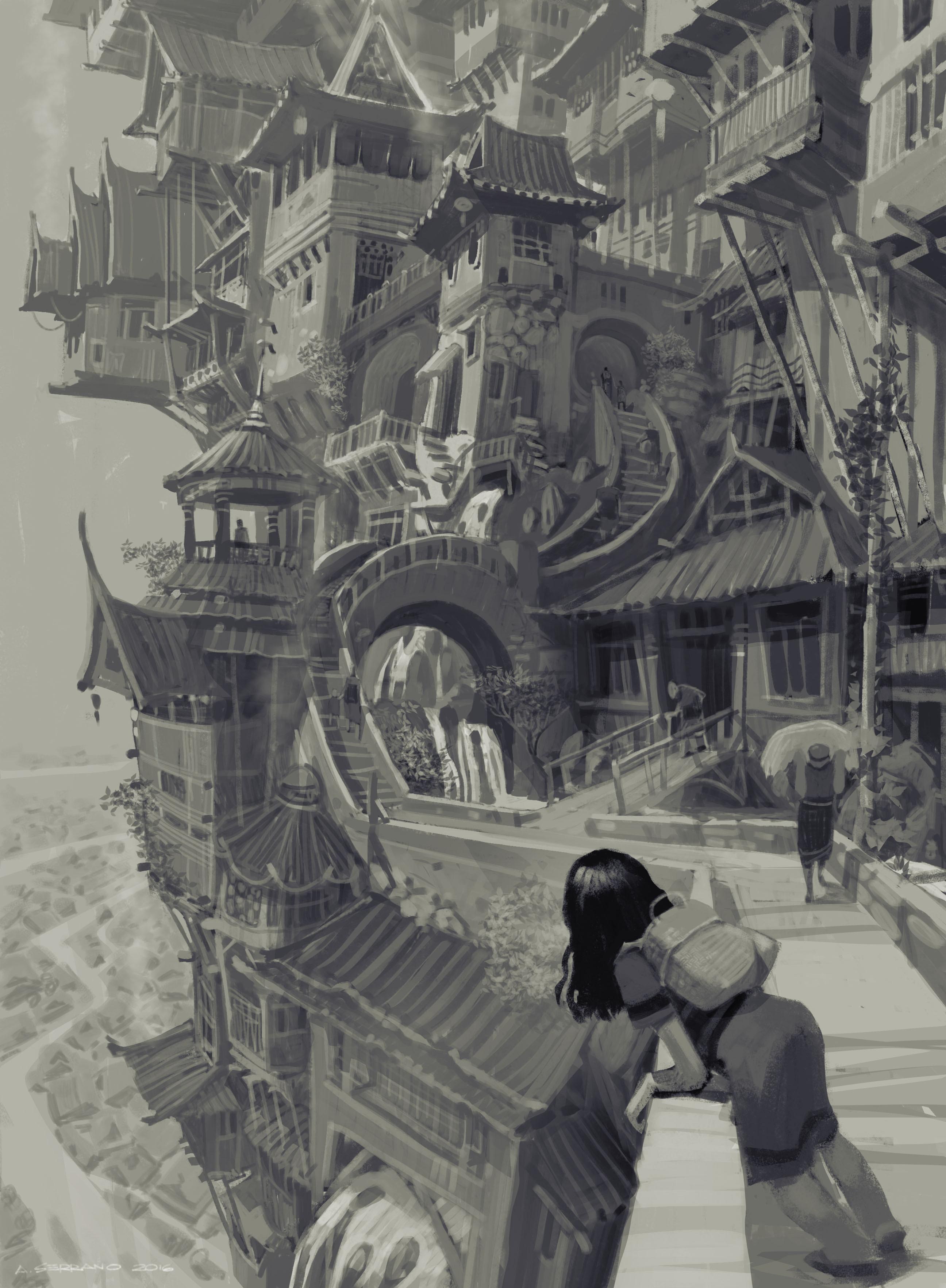 Raya and the Last Dragon Concept Art 02