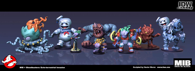 Full set of bad guys