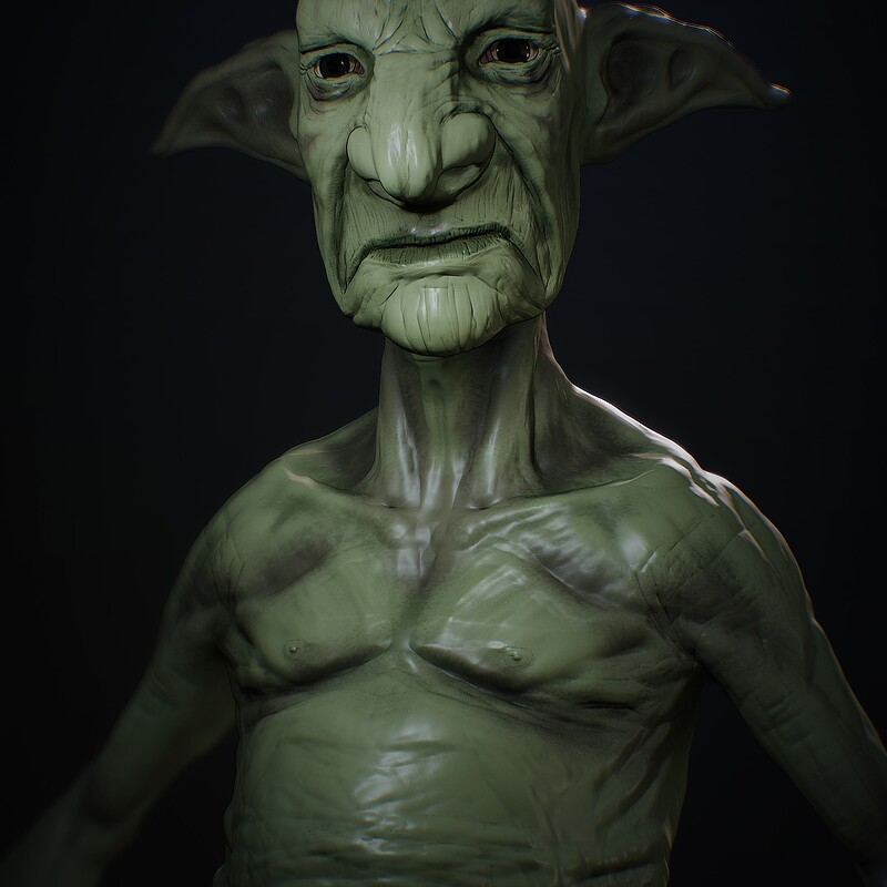 Nomad Sculpting: Goblin