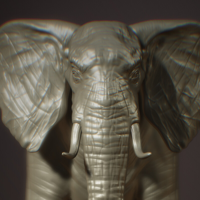 Nomad Sculpting: Elephant