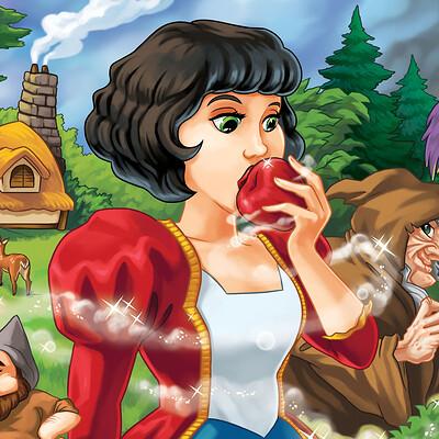 Mario castaneda snow white color 9