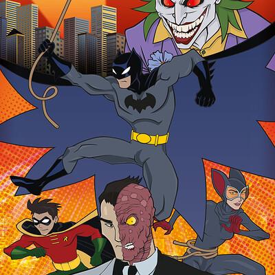 Thorny devil thebatman mashup poster