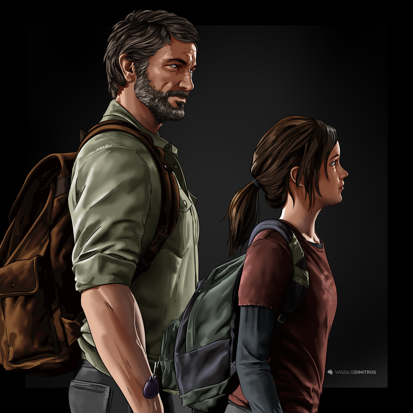 """""""I've struggled a long time with survivin', but no matter what you have to find something to fight for""""  The Last of Us Part 1/5: The Way It Was"""
