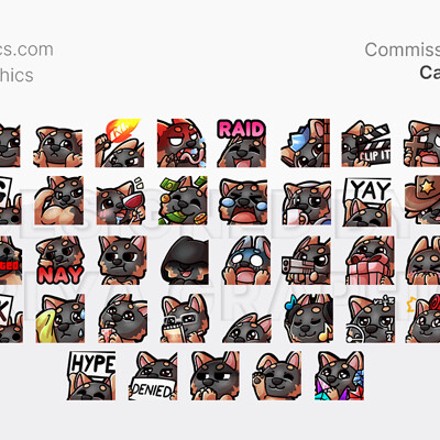 Aerlya graphics sample caileetv emotes