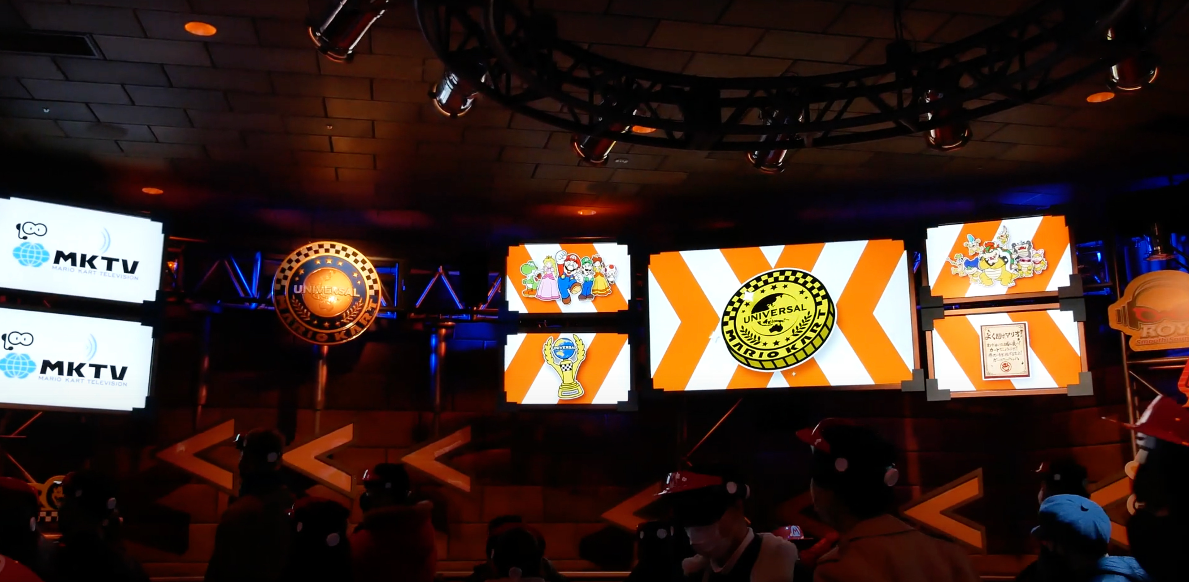 The Universal Medallion can be seen during pre show. Photo Credit: UniversalParksNewsToday