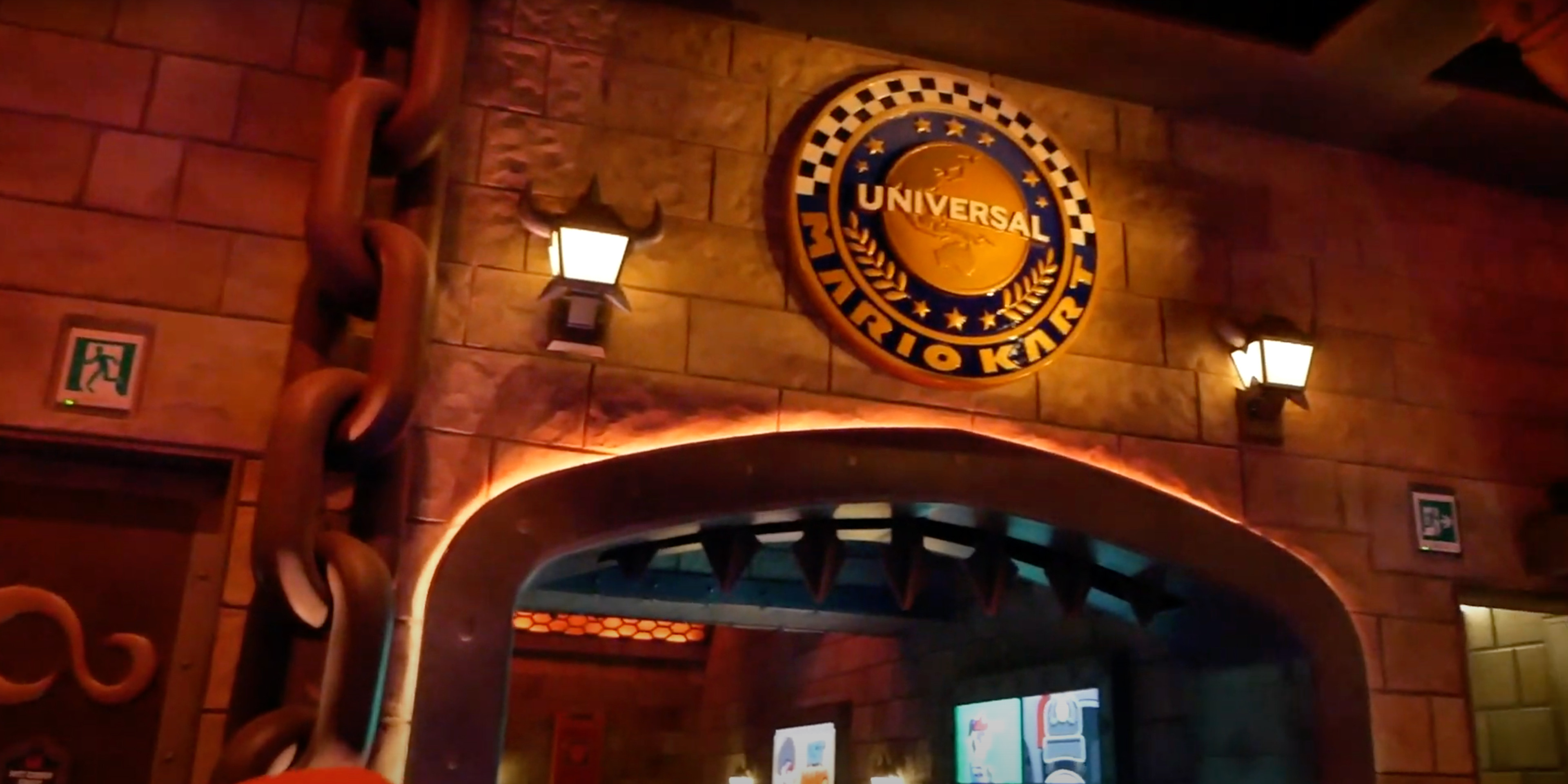 The Universal Medallion can also be seen at the very end of the attraction. Photo Credit: UniversalParksNewsToday