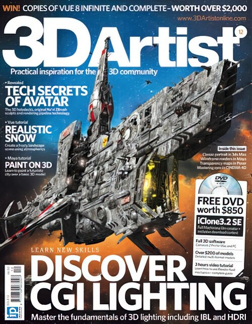 This picture has been used for the cover of the issue 12 of the 3Dartist magazine in 2010