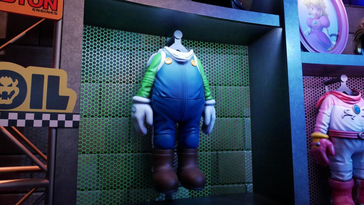 Close up of the Luigi jumpsuit  Photo Credit: UniversalParksNewsToday
