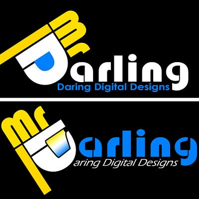 Christopher royse darling mr darling word logo 1 type final concepts