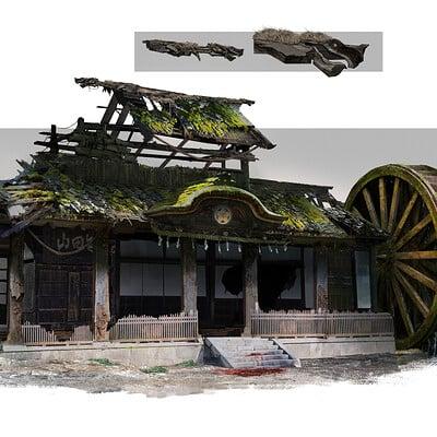 Reuben lane japanese building house revised