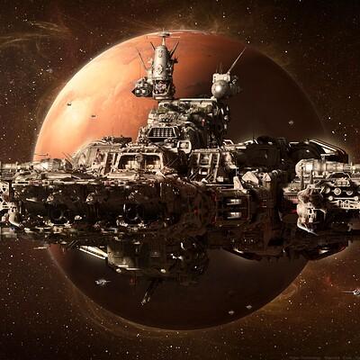 Yann souetre spaceship 22 sdf 1 ares exile