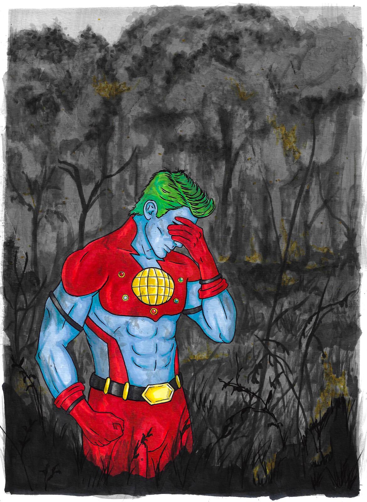 Captain Planet fan art