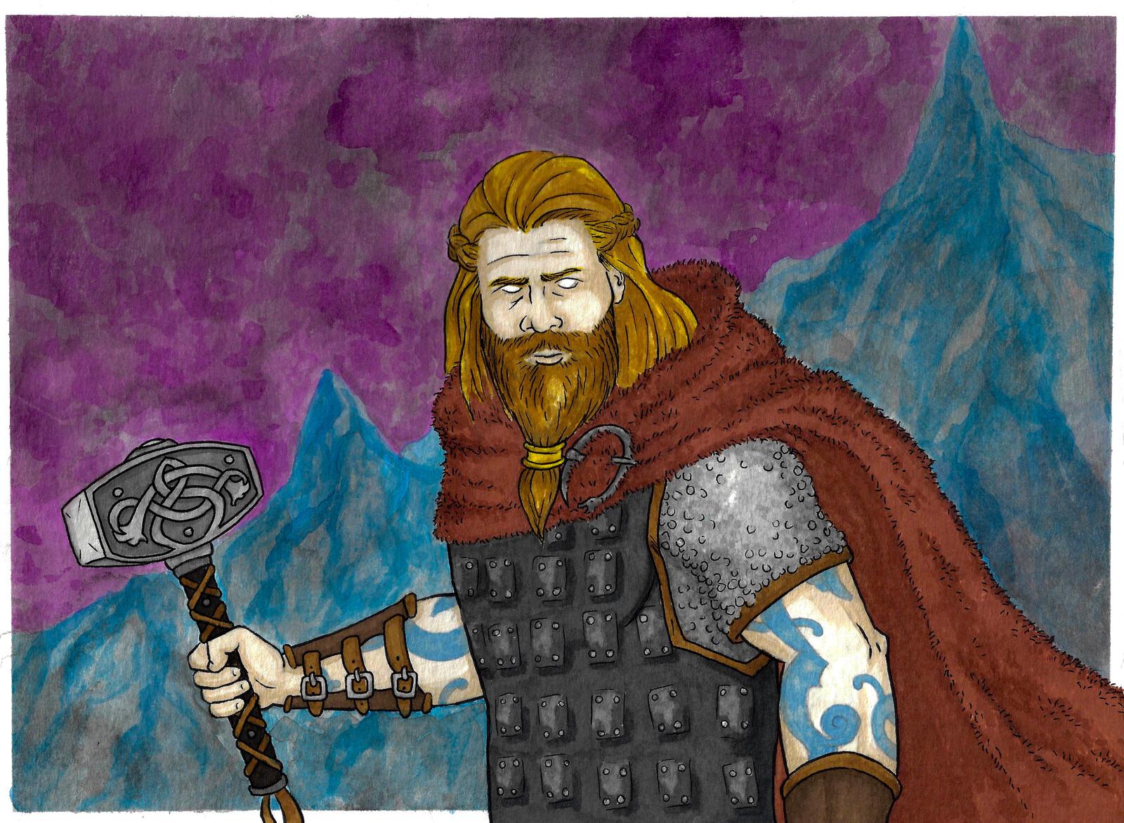 Thor, fan art