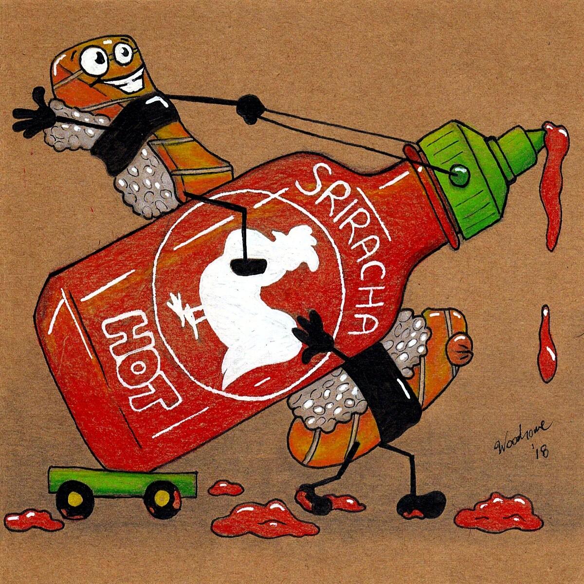 Sriracha and Sushi