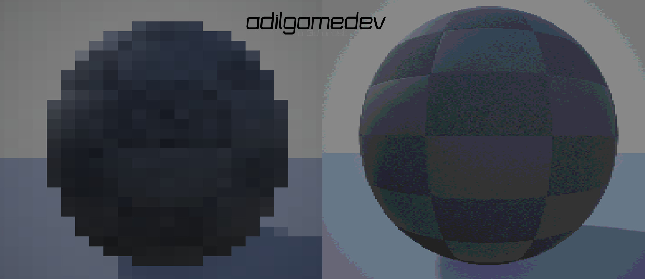 custom shaders used in the project, with them being a pixel shader and a dithering shader to give it a retro effect