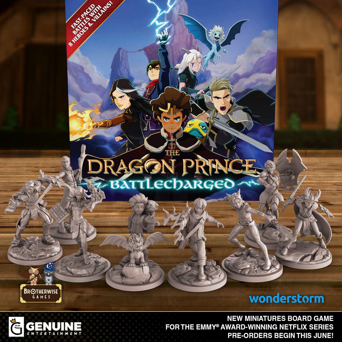 If you'd like to learn more about the game and want to purchase it, check the link below! https://www.brotherwisegames.com/thedragonprince