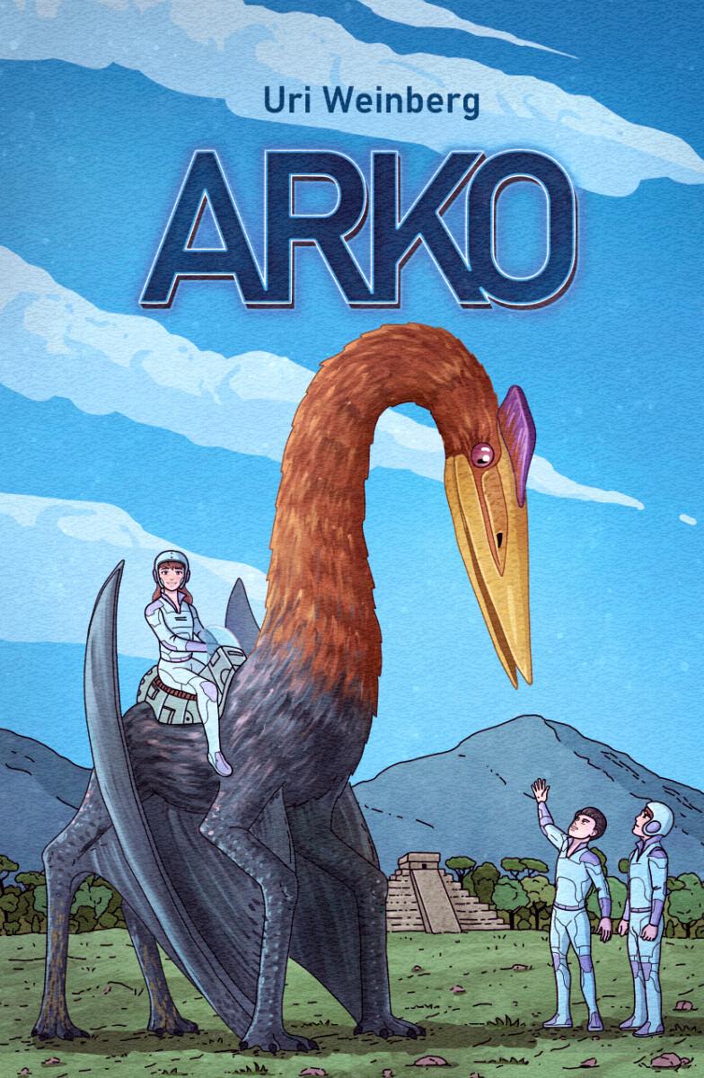 Arko raamatu kaanekujundus