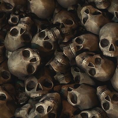 R33k skulls bones textures 01