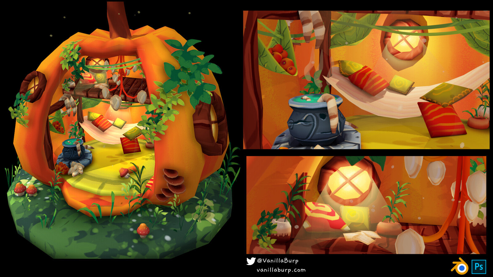 The Woodland Pumpkin Encounter