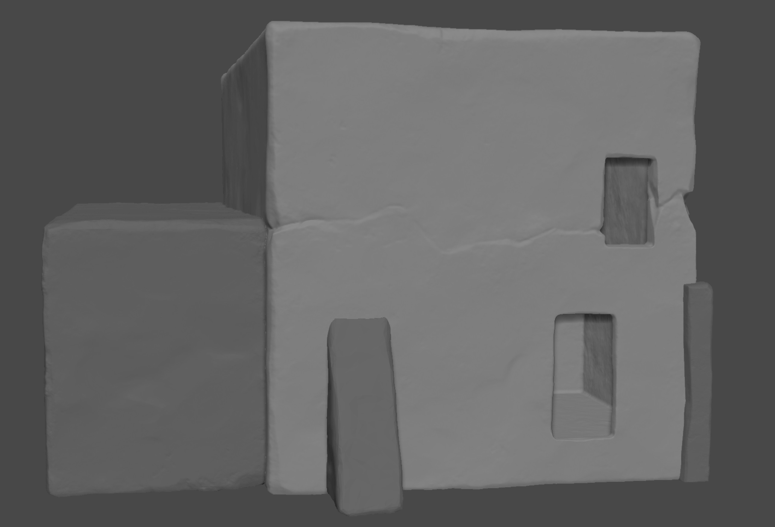 Red House High-poly