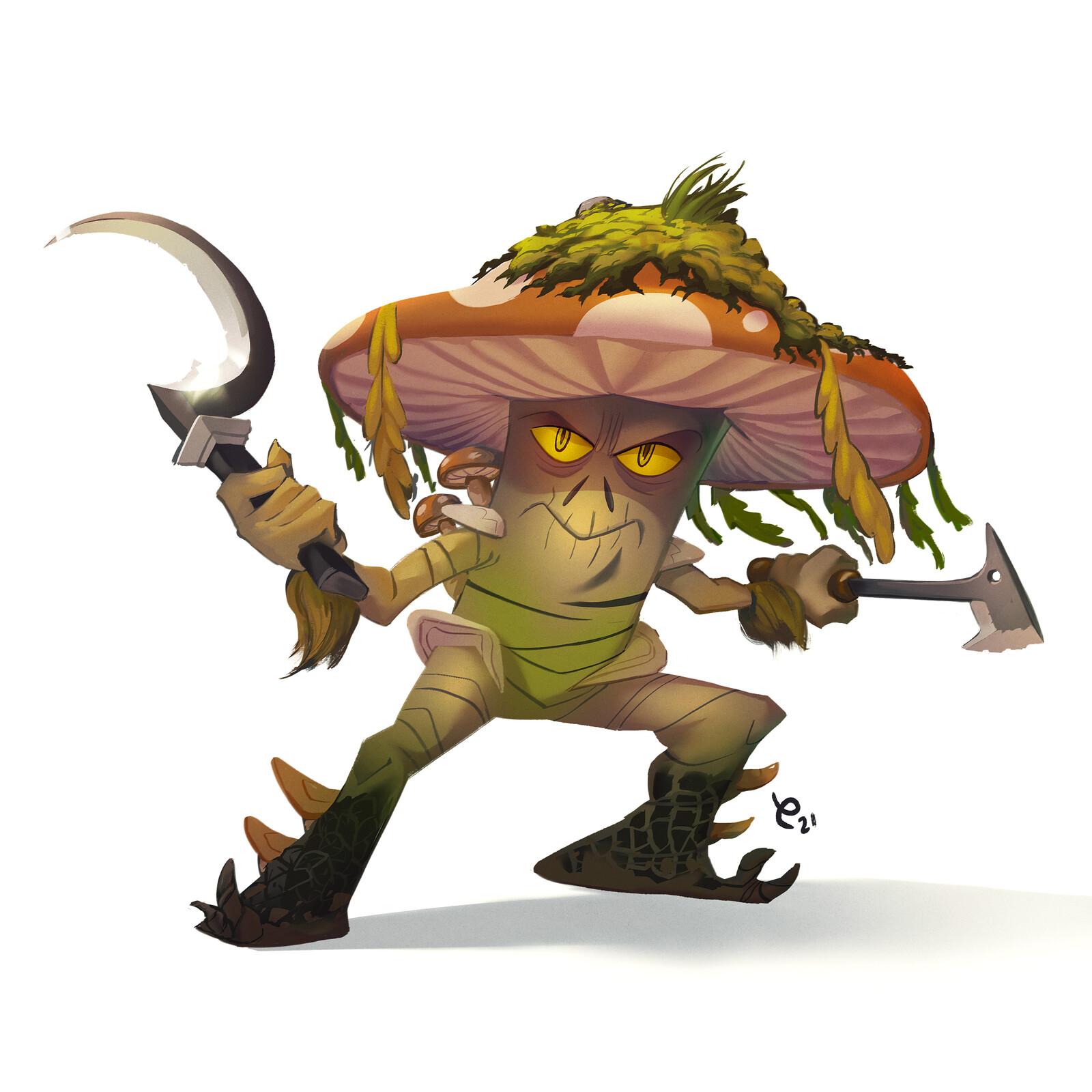 Mushroom Fighter! - Umami