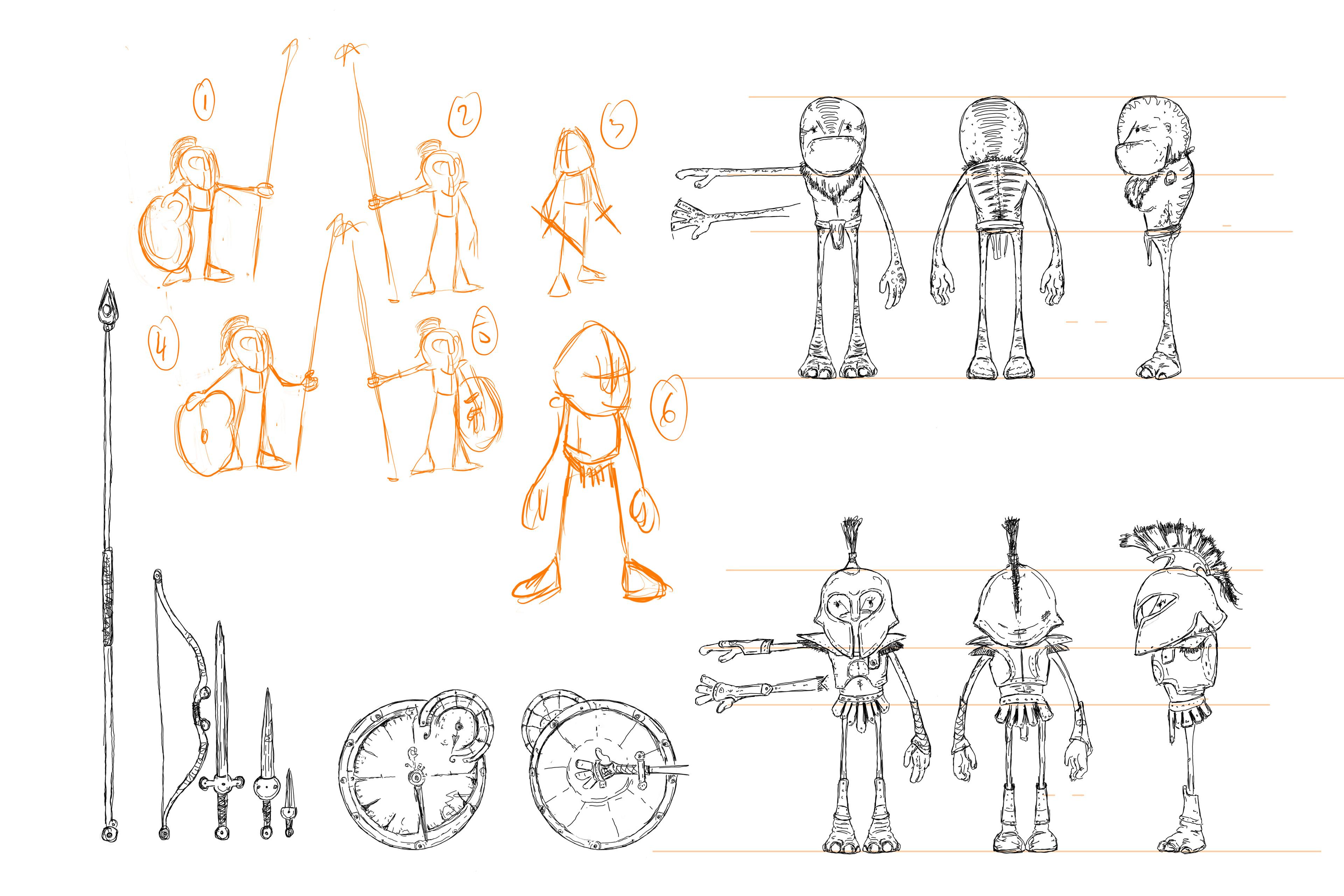 Character sheet, The Chosen One