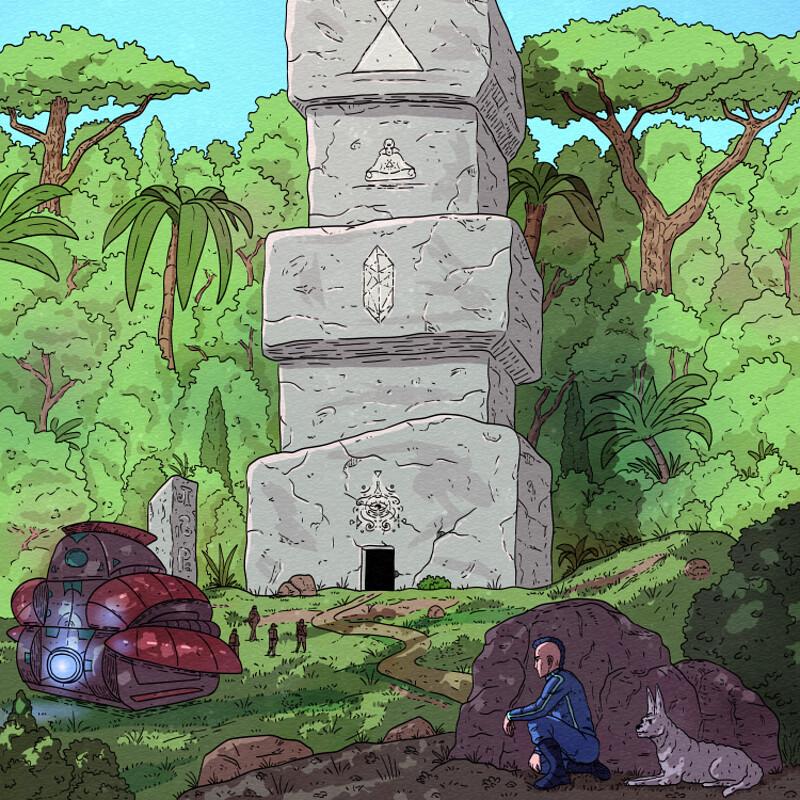 Keenan The Explorer, Sci-fi Storytelling
