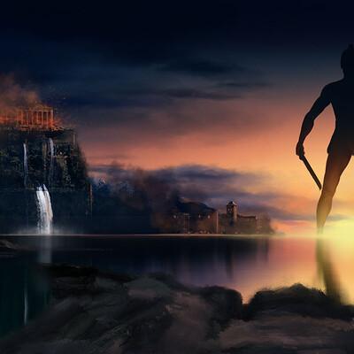 Lee bryan talos return of a titan lee bryan art 2021