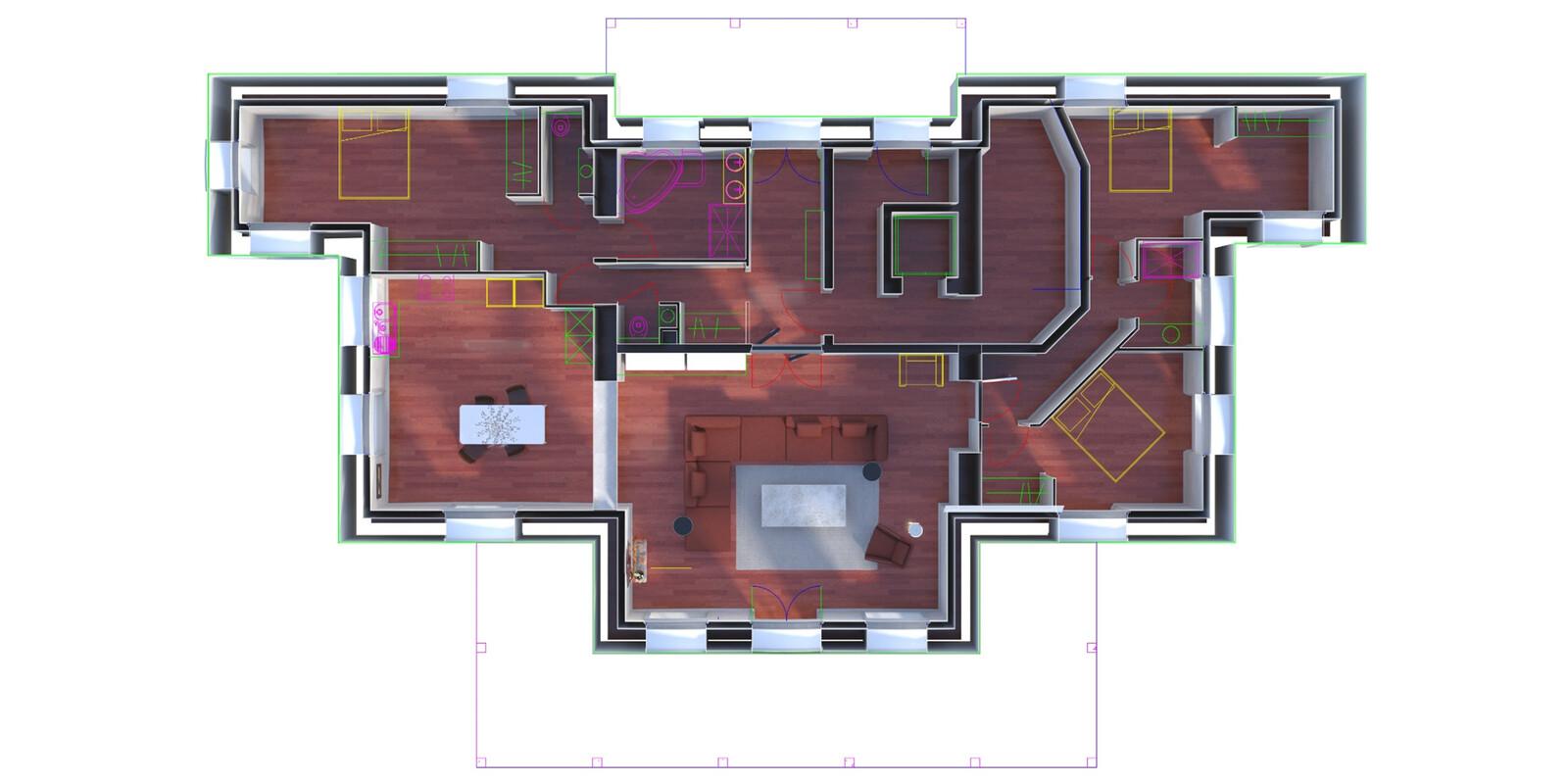 Plan / 3D