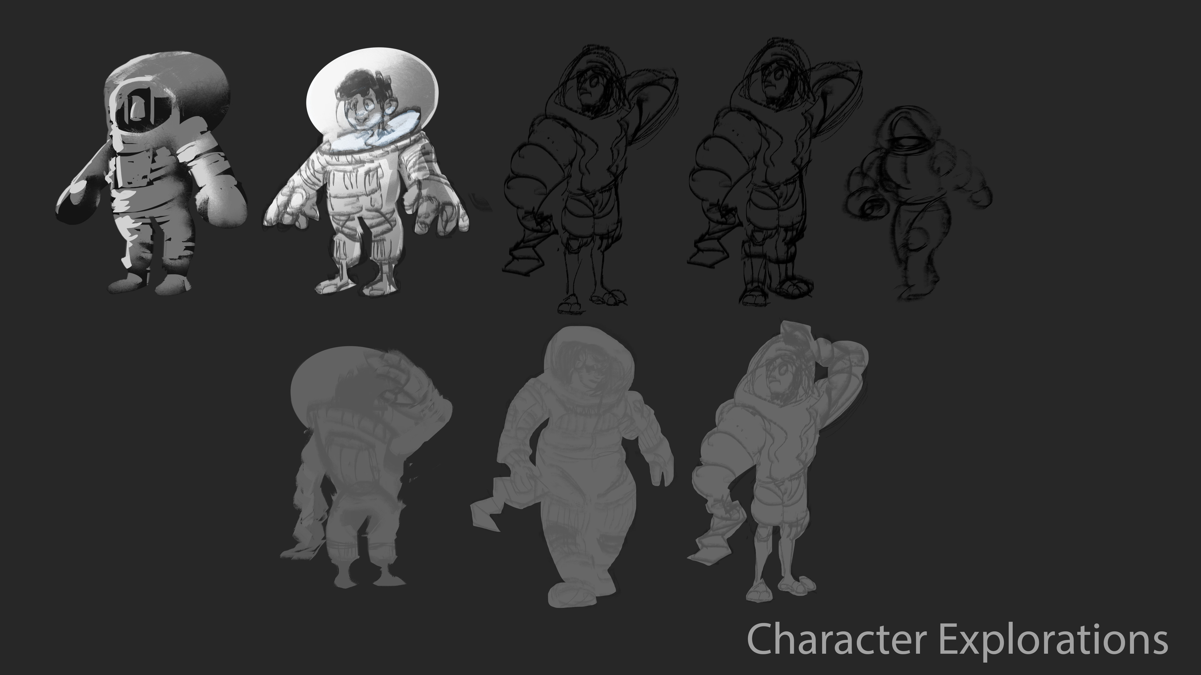 Early Character Explorations