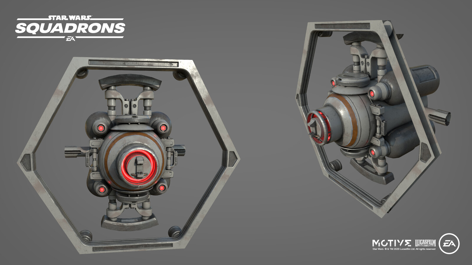 Destructible core reactor inside the Starhawk