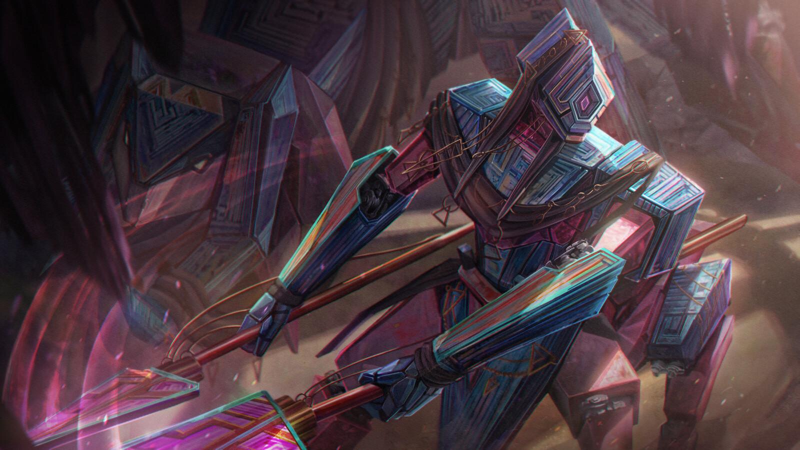 Bismuth Warrior