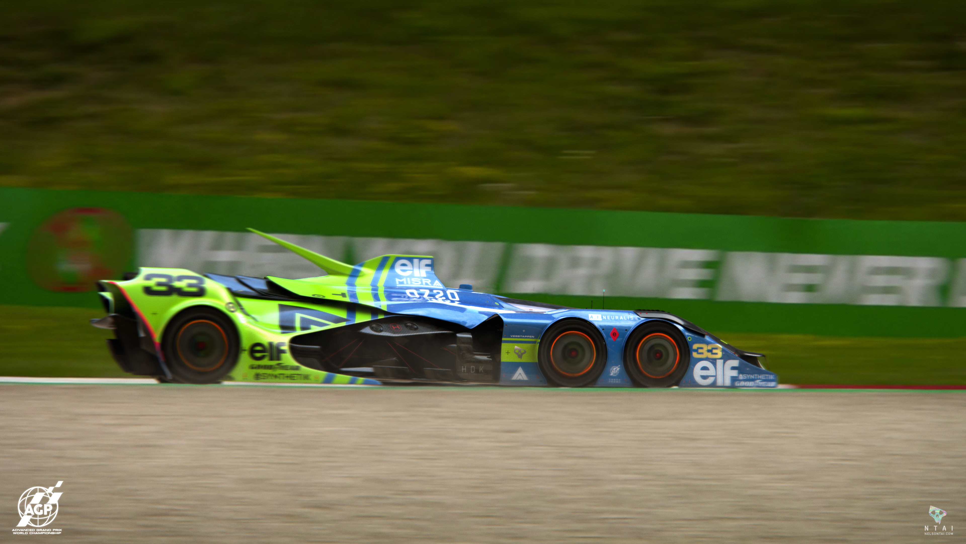 """PRE-SEASON TESTING :: 001 """"The cornering speed of this car is incredible!"""""""