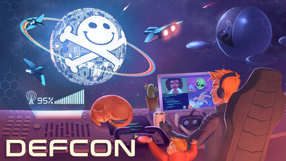 DEFCON promo art